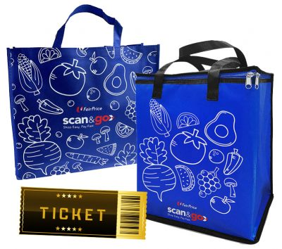 Bags given out by Scan & Go