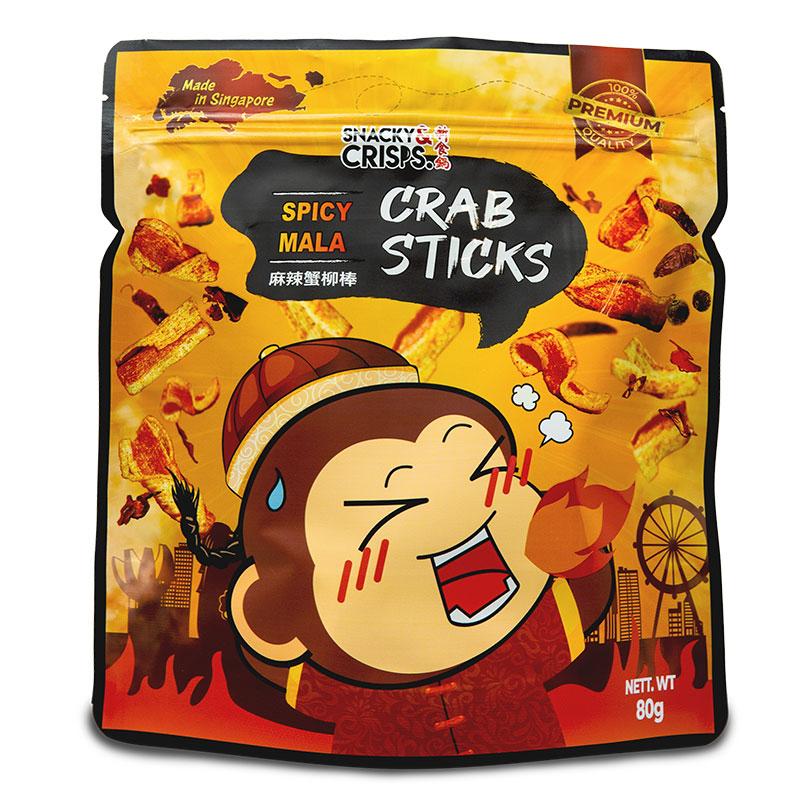 SNACKY Potato Chips / Crabsticks Assorted 80g