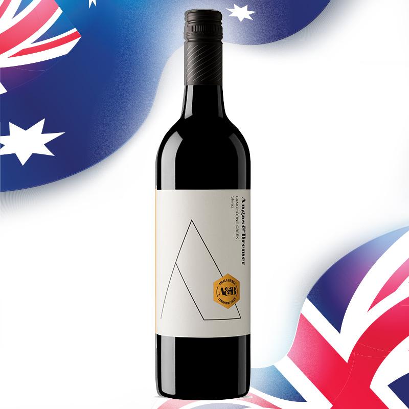 FairPrice Finest Wine - Angas & Bremer Langhorne Creek Shiraz 2017