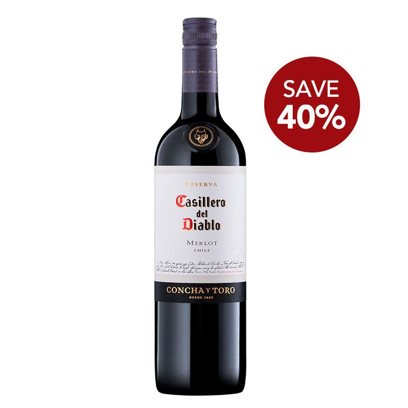FairPrice Finest Wine Flash sale - Casillero del Diablo Merlot