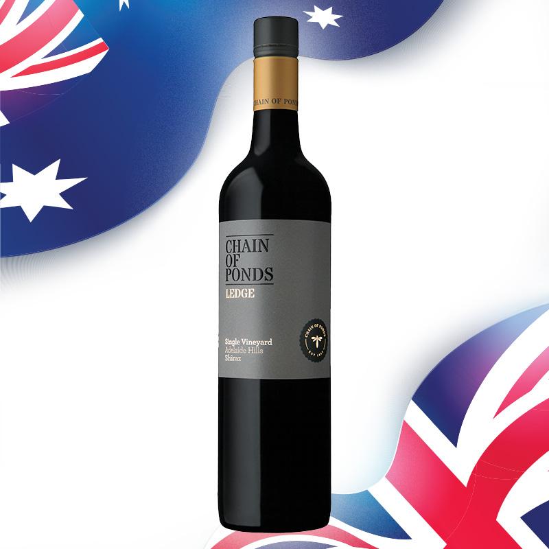 FairPrice Finest Wine - Chain of Ponds Adelaide Hills The Ledge Shiraz 2018