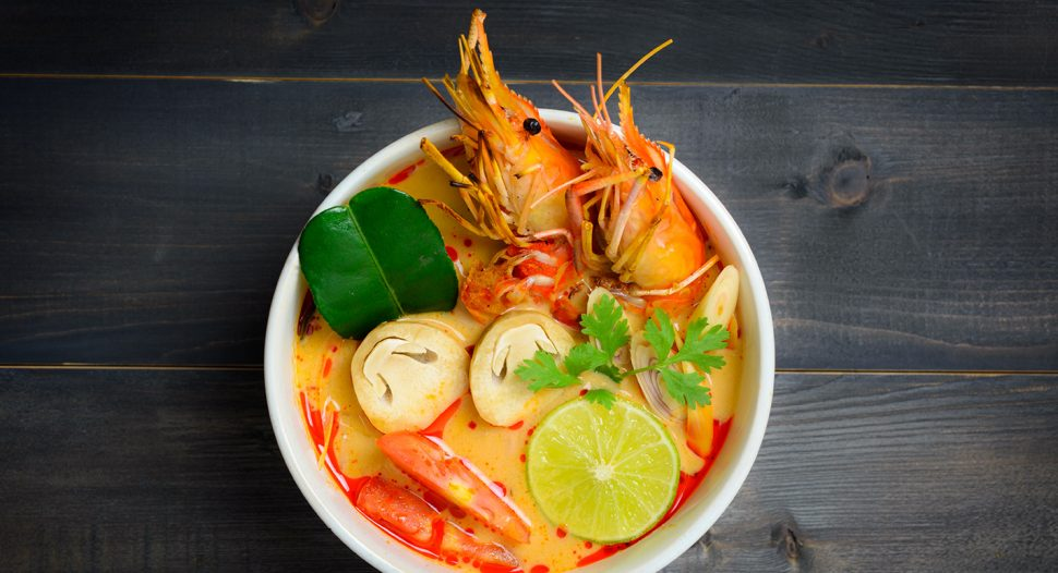 All time favourite Thai soup - Tom Yum Goong recipe