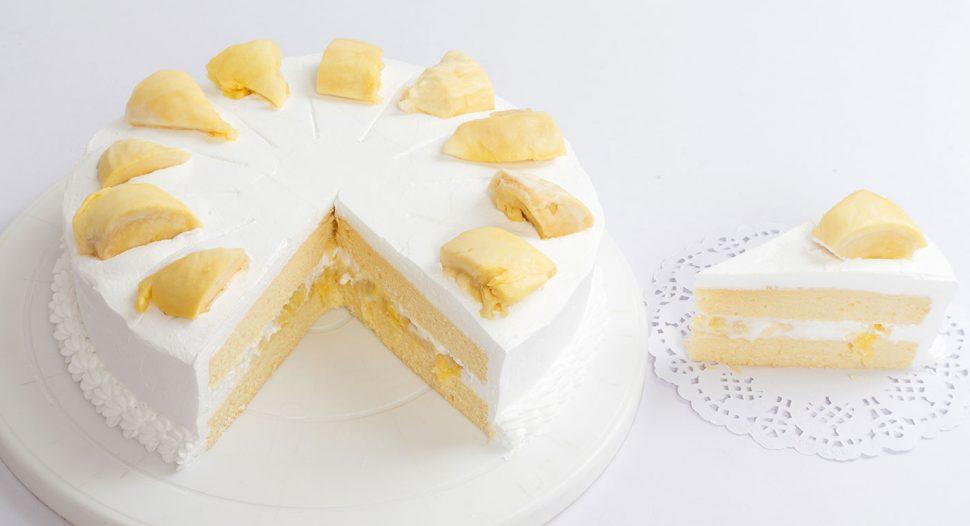 Singapore's favourite Durian Cake recipe
