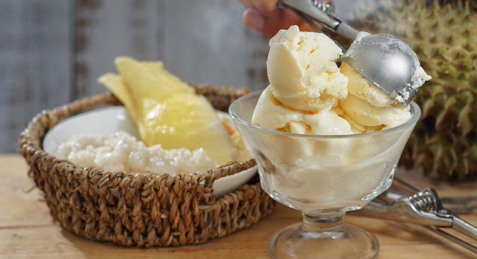 Easy and Delicious Durian Ice Cream recipe
