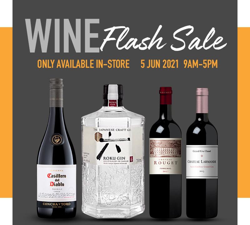 FairPrice Finest Wine Flash Sale - June