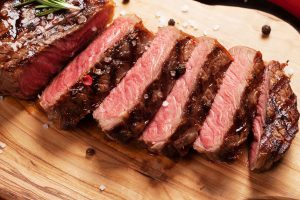 Easy and recommended Grilled Striploin Steak with Garlic Butter Mushroom Recipe