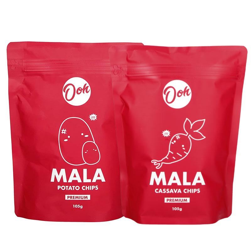 Ooh Mala Potato Chips 105g Ooh Mala Cassava Chips 105g - - New at FairPrice Finest