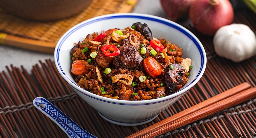"Rice Cooker ""Claypot"" Rice"