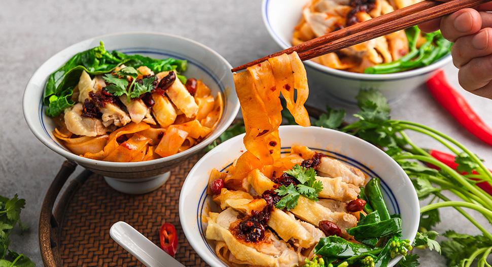 Spicy Chicken Chilli Oil Noodles