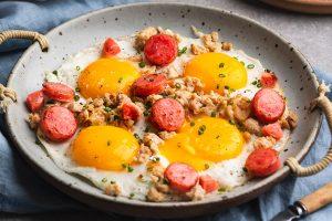 Quick Thai Breakfast Pan Eggs