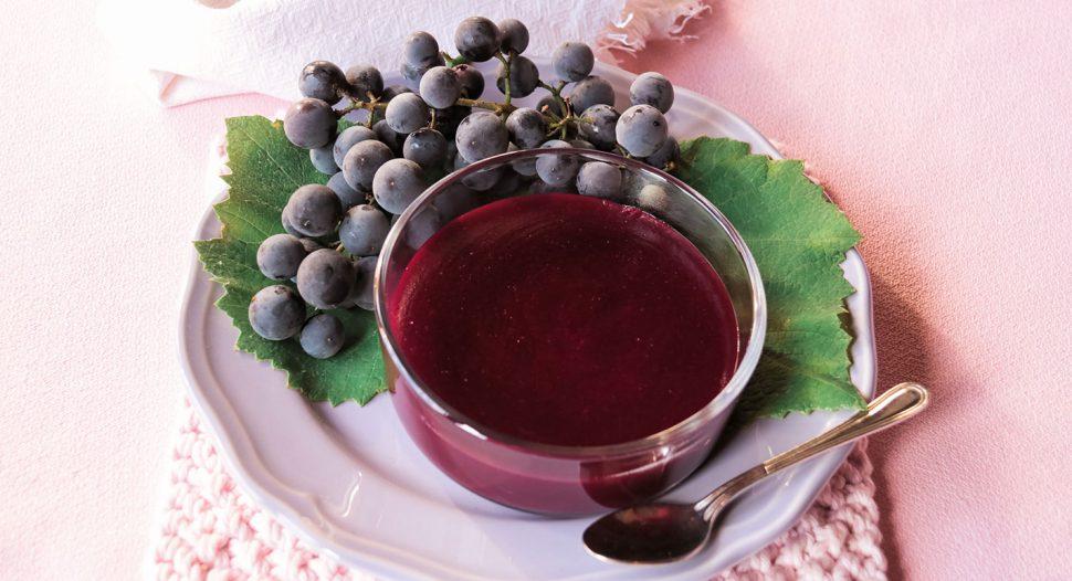 Refreshing Grape Pudding recipe