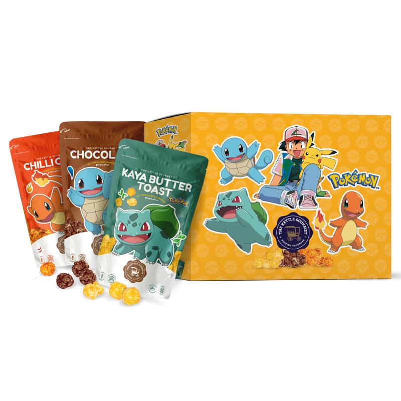 THE KETTLE GOURMET Pokemon Popcorn Box 240g
