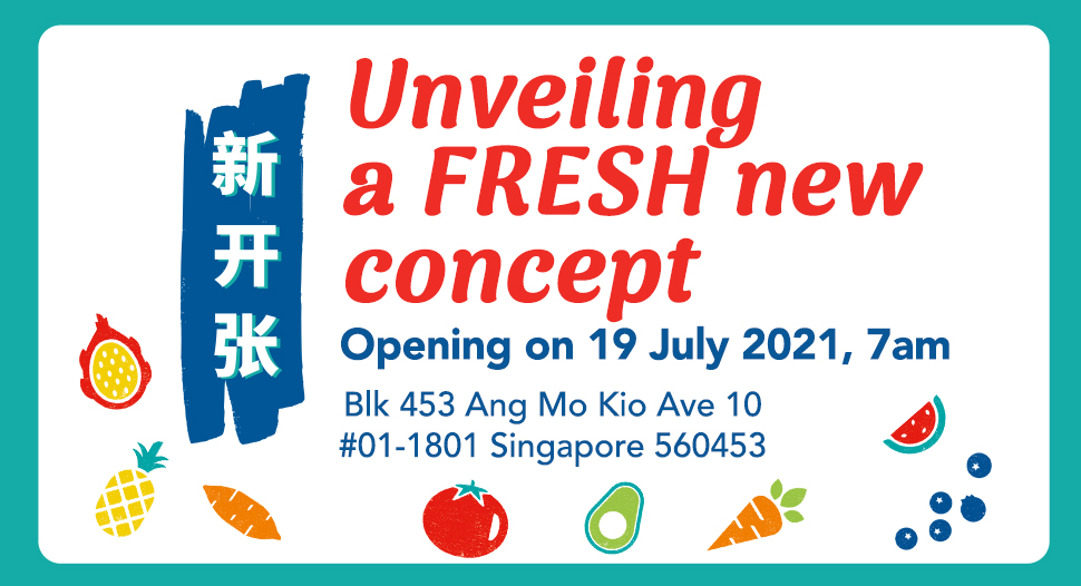 FairPrice's a new fresh concept store