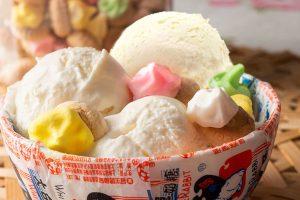good 'ol days white rabbit candy ice cream