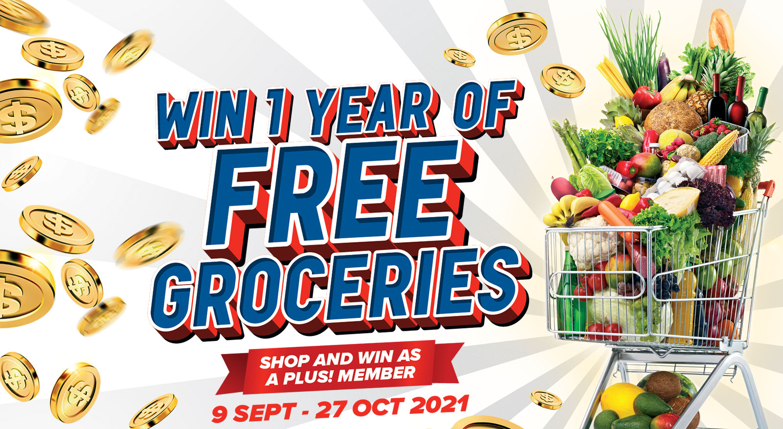 FairPrice & Plus! - Win 1 year of FREE Groceries