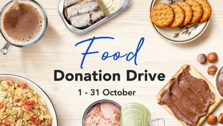 FairPrice - Annual food donation drive with Food from the Heart and Food Bank