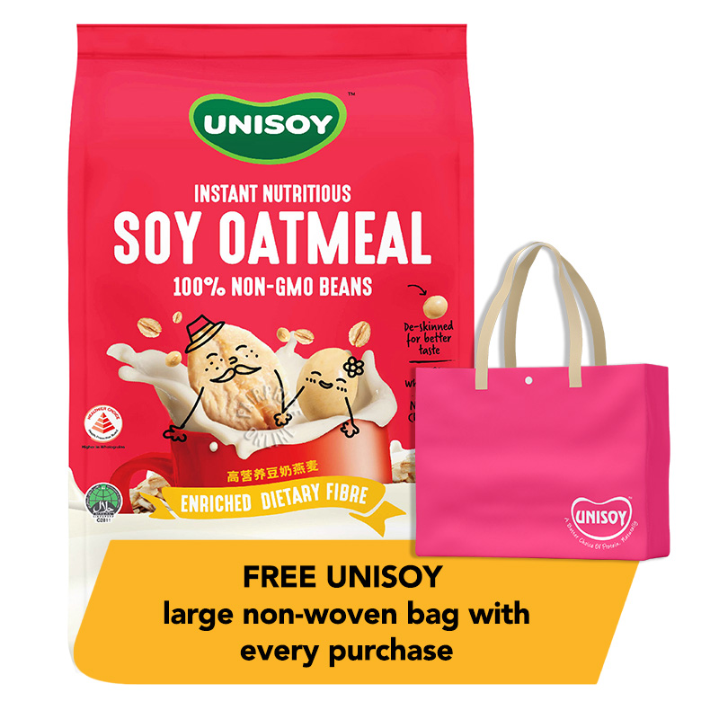 UNISOY Instant Nutritious Soya - Oatmeal / Cereal Drink