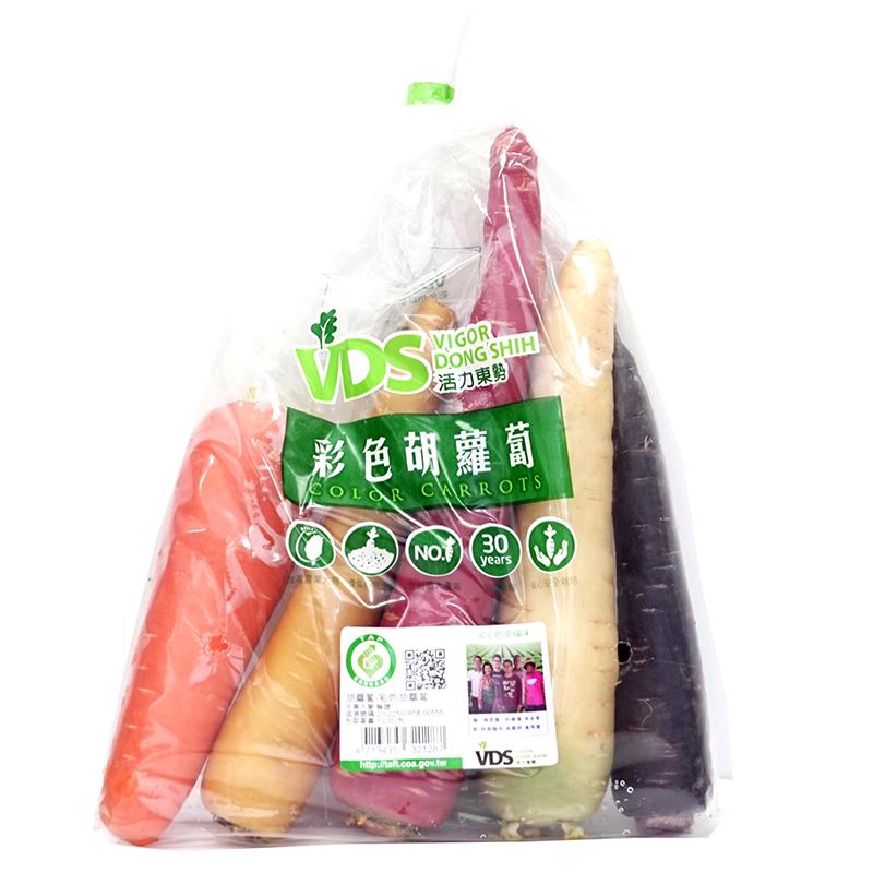 Ville De Seduction Taiwan 5-Coloured Carrot