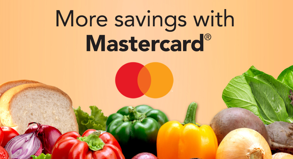 $3 OFF with Mastercard!