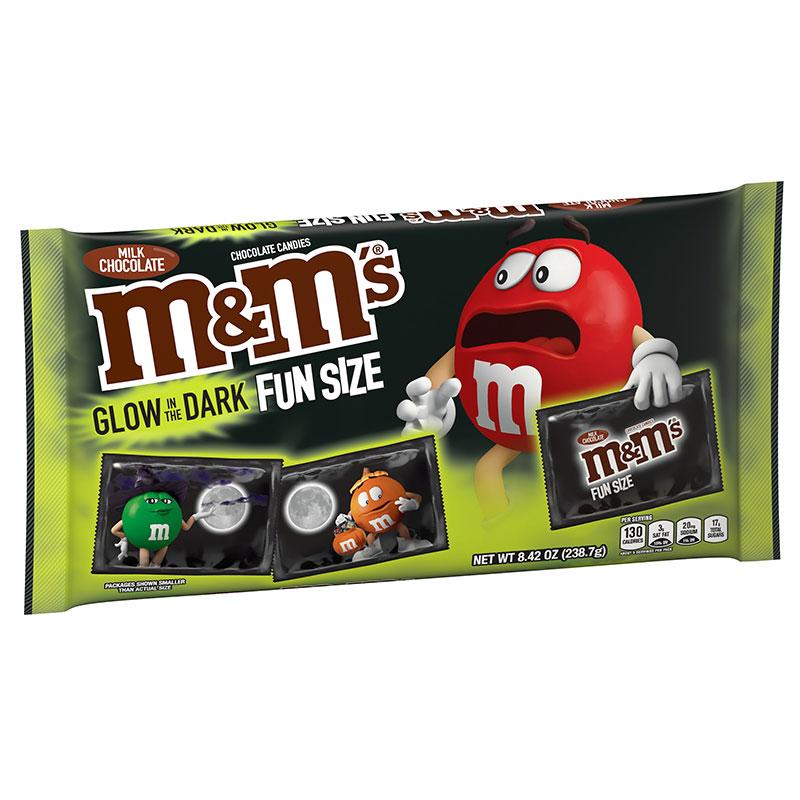 M&M'S Milk Chocolate Fun Size Glow In The Dark