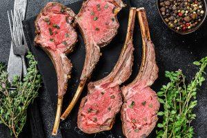 Classic Rosemary Lamb Rack recipe
