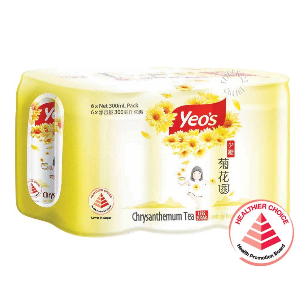 YEO'S Chrysanthemum Tea - No Sugar / Less Sugar